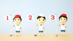 日本人は3が好き