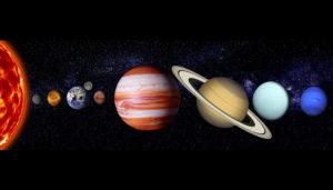 占星術の主役は惑星です